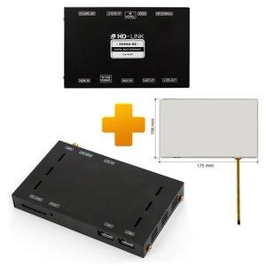 Kit de navegación y multimedia basado en CS9500H para Audi MMI  Touch