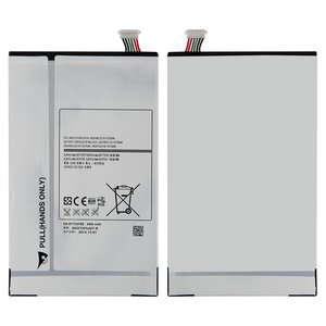 Battery EB-BT705FBE compatible with Samsung T700 Galaxy Tab S 8.4, (Li-ion, 3.8 V, 4900 mAh)