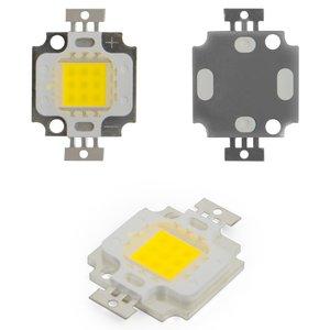 COB LED Chip 10 W (cold white, 1000 lm, 900 mA, 9-11 V)