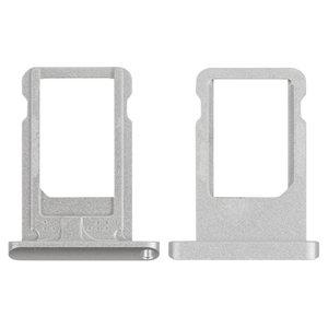 SIM-card Holder for Apple iPad Air (iPad 5), iPad Mini 2 Retina Tablets, (silver)