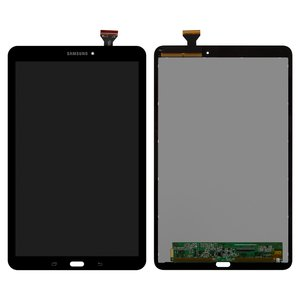 LCD for Samsung T560 Galaxy Tab E 9.6, T561 Galaxy Tab E Tablets, (grey, with touchscreen)