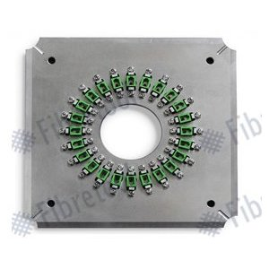 Fiber Optic Connector Polishing Fixture Fibretool FC/P-24