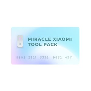Miracle Xiaomi Tool Pack (for Miracle Dongle Owners ONLY)