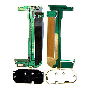 Flat Cable for Nokia N95 2Gb Cell Phone, (for mainboard, with upper keypad module, with components, with camera)