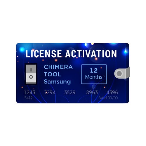 Активация лицензии для Chimera Tool Samsung