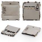 Коннектор карты памяти для Samsung S6810 Galaxy Fame, S7560, S7562, S7580 Galaxy Trend Plus, S7582 Galaxy Trend Plus Duos