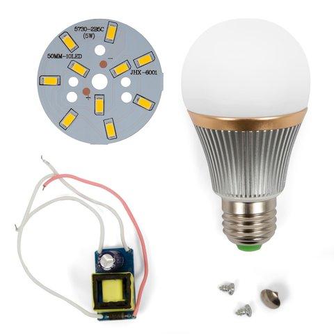 Комплект для сборки светодиодной лампы SQ-Q22 5730 5 Вт (теплый белый, E27)