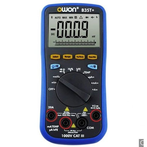 Цифровий Bluetooth мультиметр B35T+