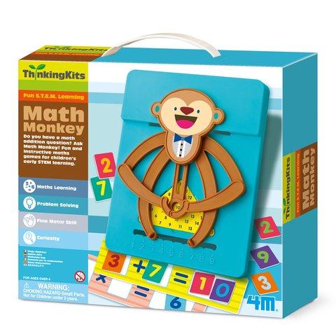 STEAM-набір 4М Мавпочка-математик